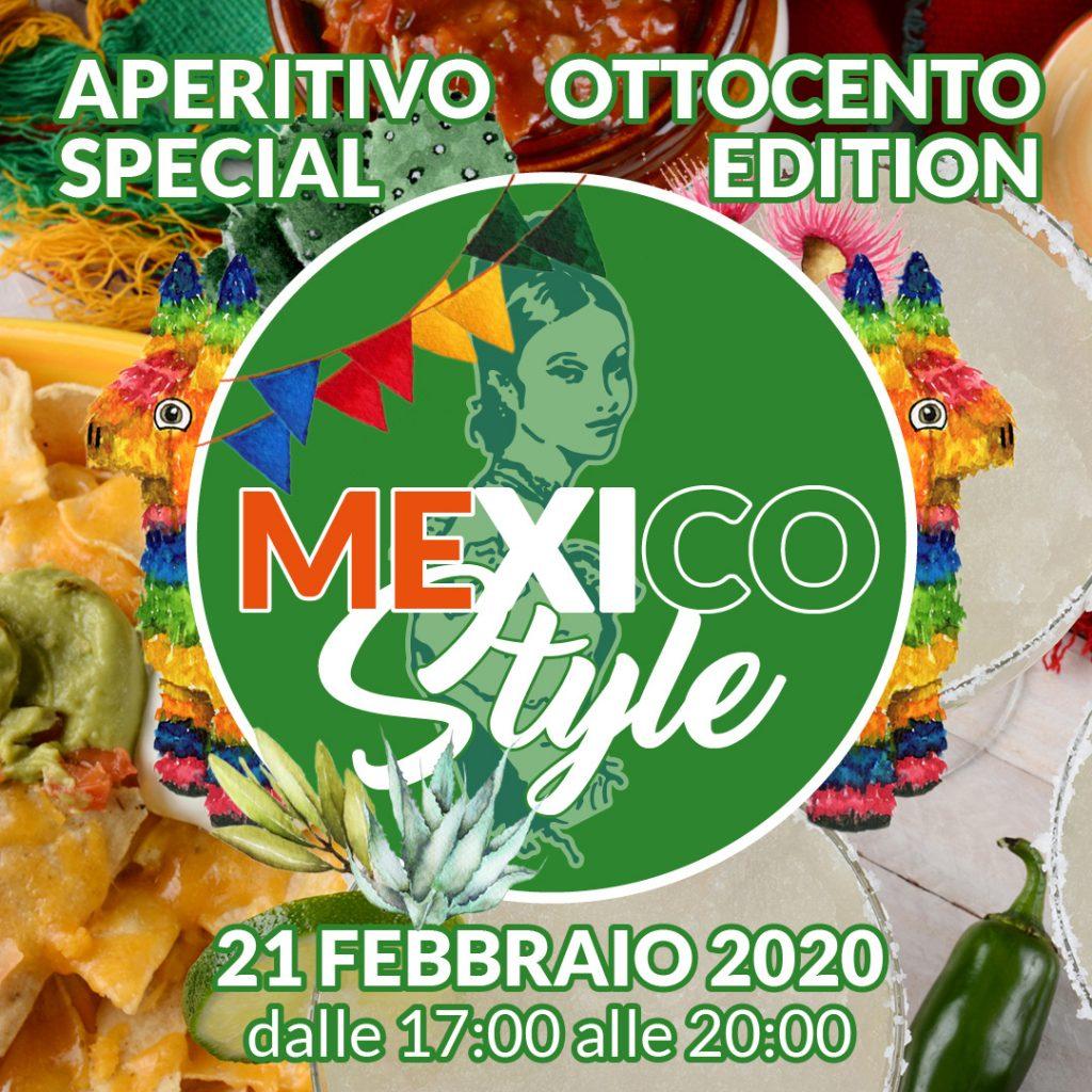 Pasticceria Ottocento - Aperitivo Speciale - Mexico Style