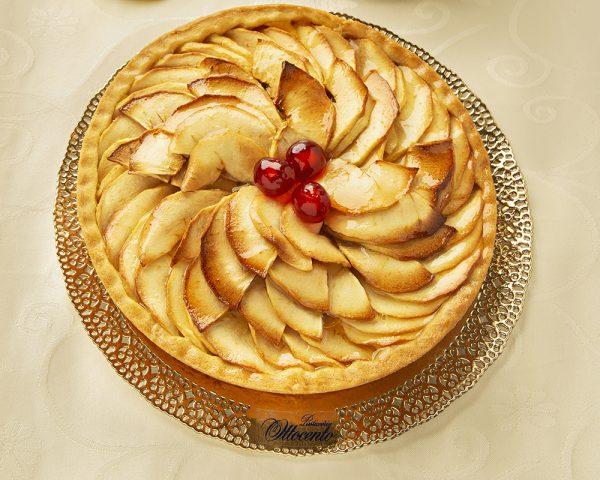 Crostata di mele - Pasticceria Ottocento