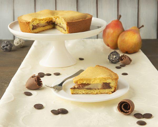 Crostata pera e cioccolato - Pasticceria Ottocento