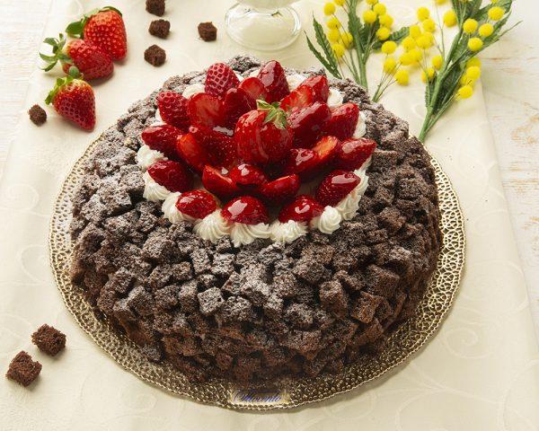 Torta Mimosa al cioccolato - Pasticceria Ottocento