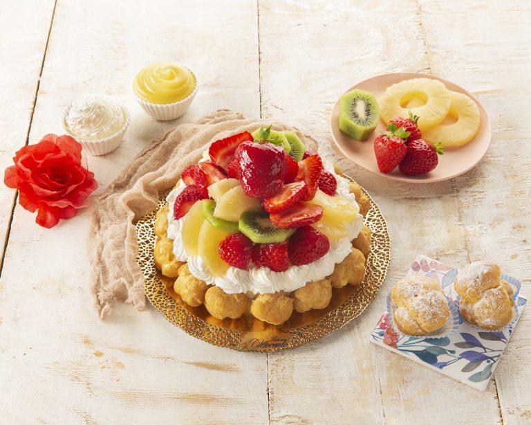 Torta Desirè con frutta