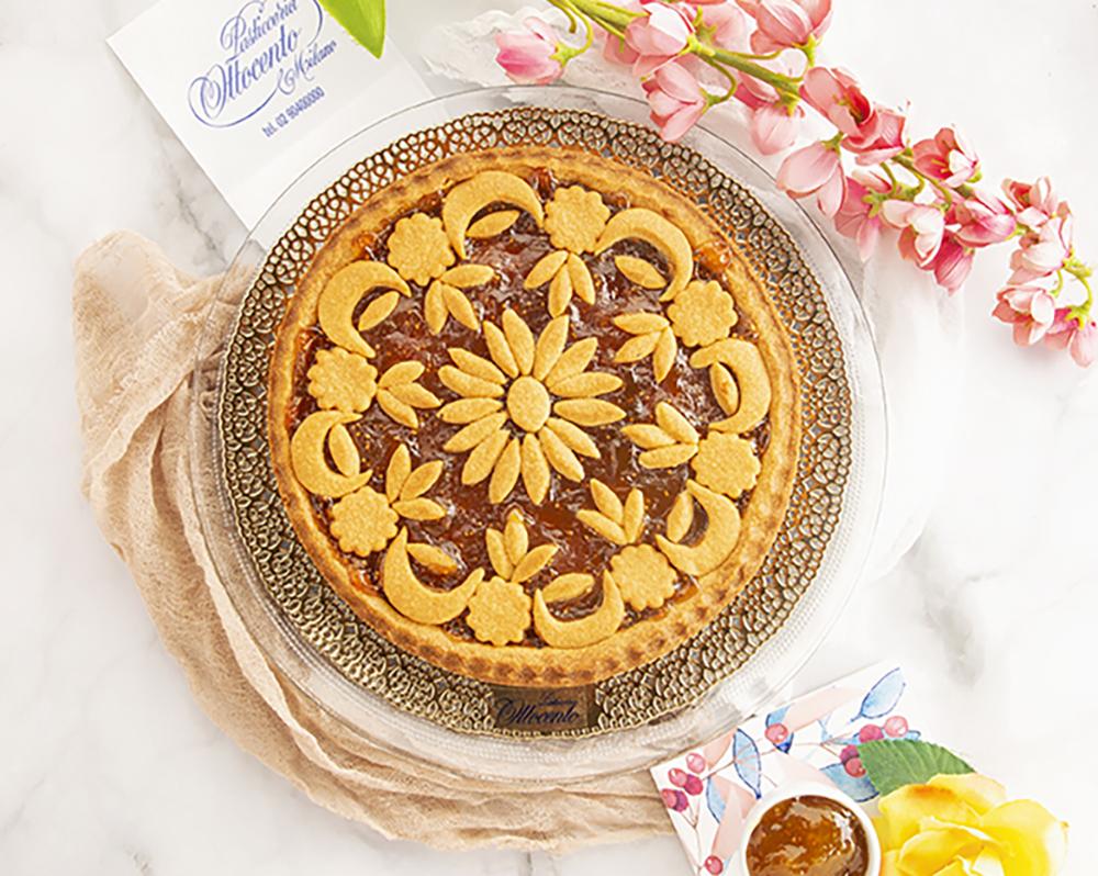 Crostata marmellata di ciliegia