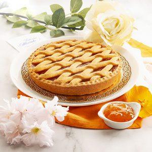 Crostata Filetto con Marmellata di Albicocche