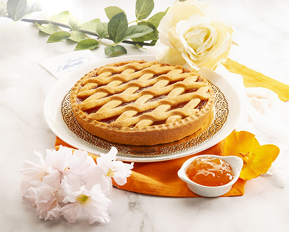 Crostata Filetto con Marmellata di Albicocche