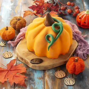 Torta a forma di zucca - Dolci di Halloween