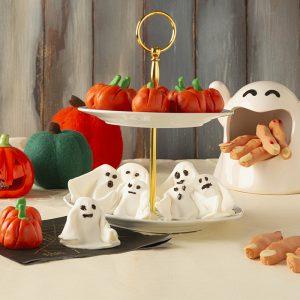 Dolci di Halloween | Zucche di marzapane | Pasticceria Ottocento Milano