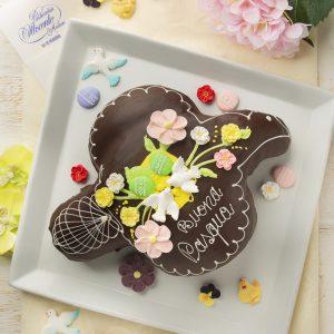 Colomba artigianale ricoperta di cioccolato