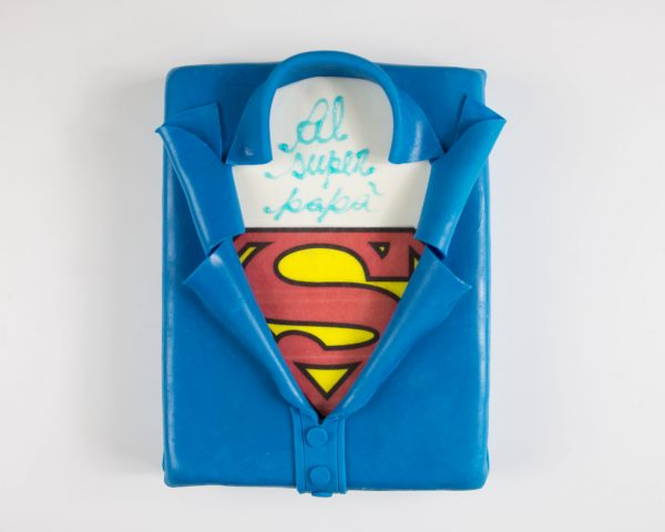 Torta Superman | Festa del papà
