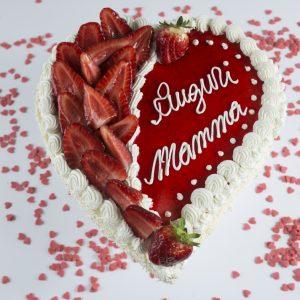 Torta Cuore festa della mamma - Pasticceria Ottocento - Milano