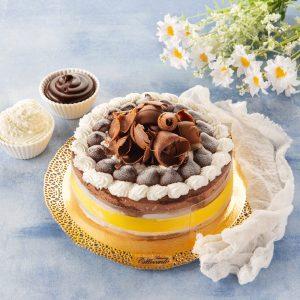 Torta gelato cioccolato e fior di latte